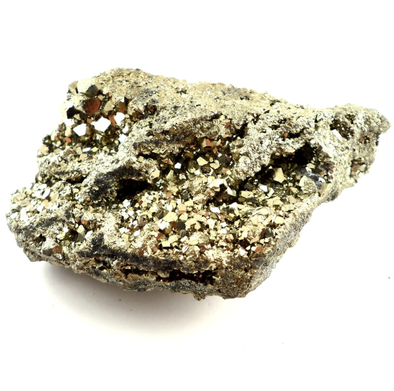 Pyrite Cluster All Raw Crystals