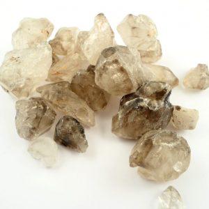 Smoky Quartz Points and Elestials Raw Crystals elestial
