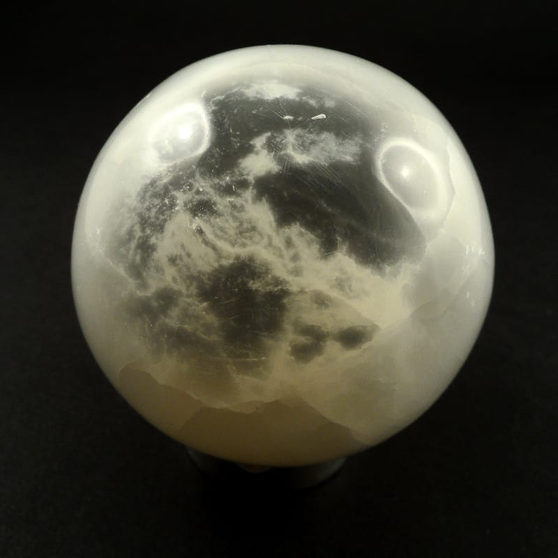 Selenite Sphere, 60mm All Polished Crystals polished