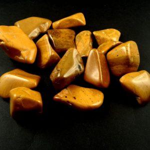 Jasper, Yellow, tumbled, 8oz All Tumbled Stones jasper