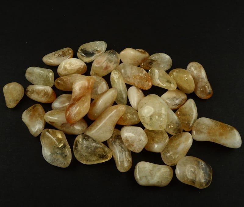Citrine,A, tumbled, 8oz All Tumbled Stones