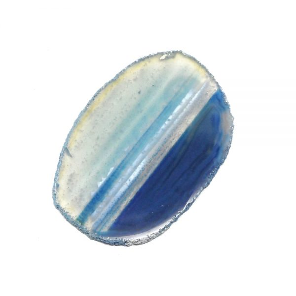 Blue Agate Crystal Slice Agate Products agate