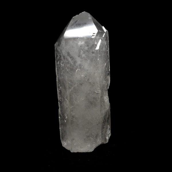Quartz Point with Cut Base All Raw Crystals clear quartz