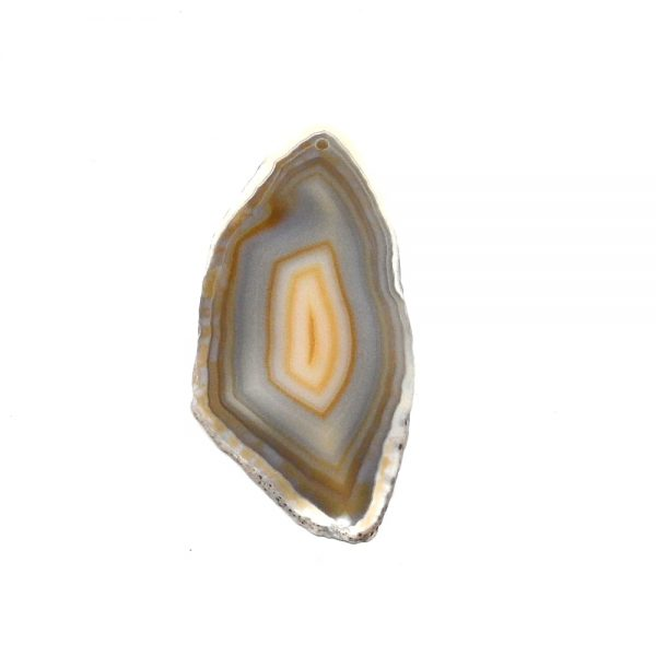 Drilled Agate Slice Natural Agate Products agate
