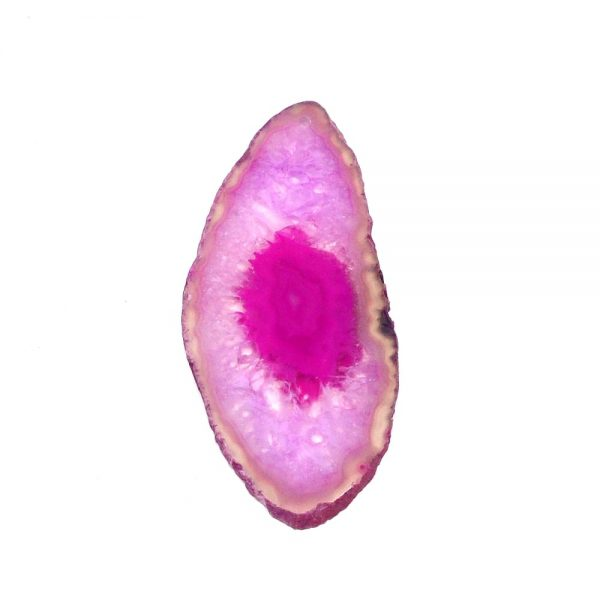 Drilled Agate Slice Pink Agate Products agate