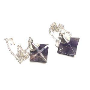 Amethyst Pendulum, Merkaba All Specialty Items amethyst