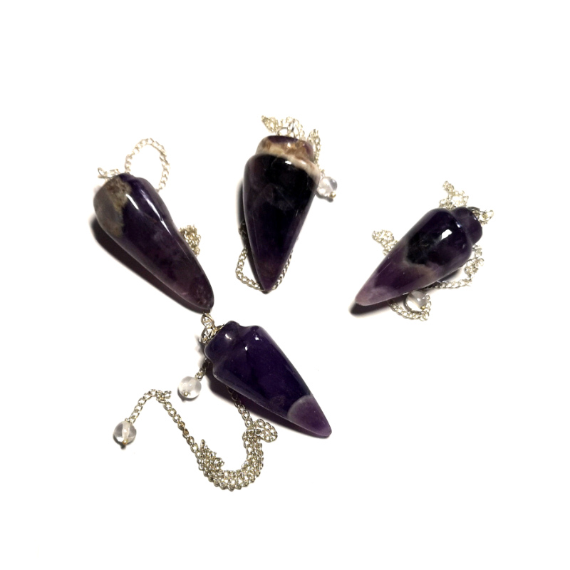 Amethyst Pendulum, Rounded Point All Specialty Items
