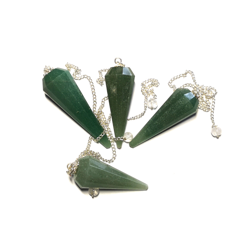 Aventurine Pendulum, 12 Sided Point All Specialty Items