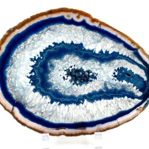 Agate Slice, Blue Specialty Items agate