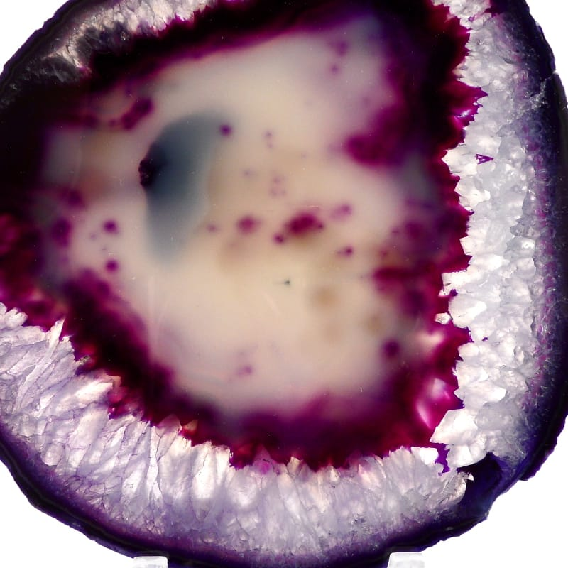 Agate Slice, Purple Agate Slabs