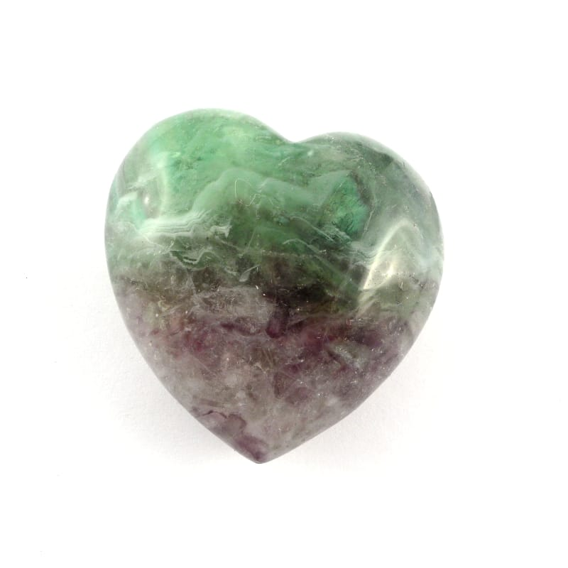 Fluorite Heart All Polished Crystals fluorite
