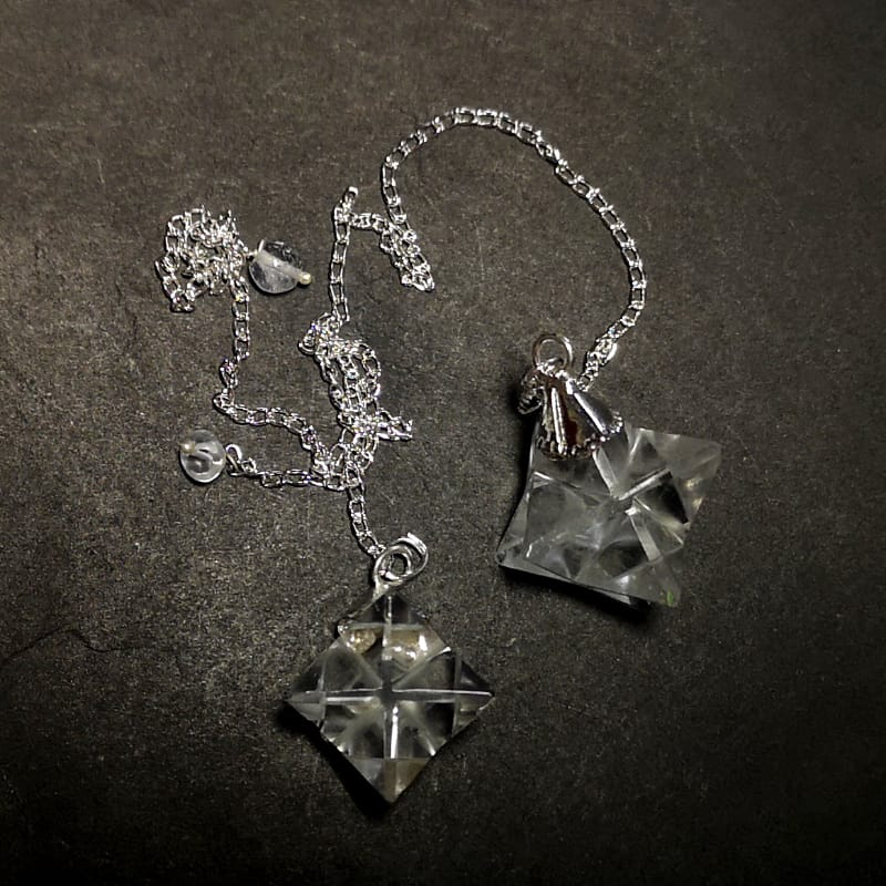 Quartz Pendulum, Merkaba All Specialty Items pendulum