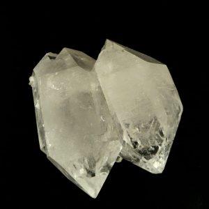 Quartz Double Point, XQ Multi-Terminated All Raw Crystals clear quartz