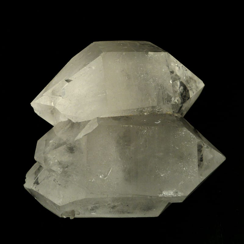 Quartz Double Point, XQ Multi-Terminated All Raw Crystals clear quartz