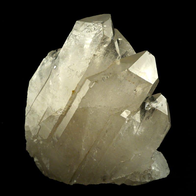 Quartz Cluster All Raw Crystals clear quartz