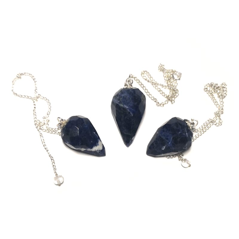 Sodalite Pendulum, Faceted Point All Specialty Items pendulum