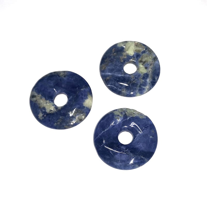 Sodalite Donut, 35mm All Crystal Jewelry donut
