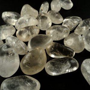 Quartz, Clear, tumbled, 16oz, md All Tumbled Stones clear quartz