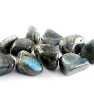Labradorite, tumbled, 8oz All Tumbled Stones labradorite