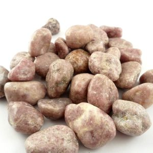 Lepidolite, tumbled, sm, 8oz All Tumbled Stones lepidolite