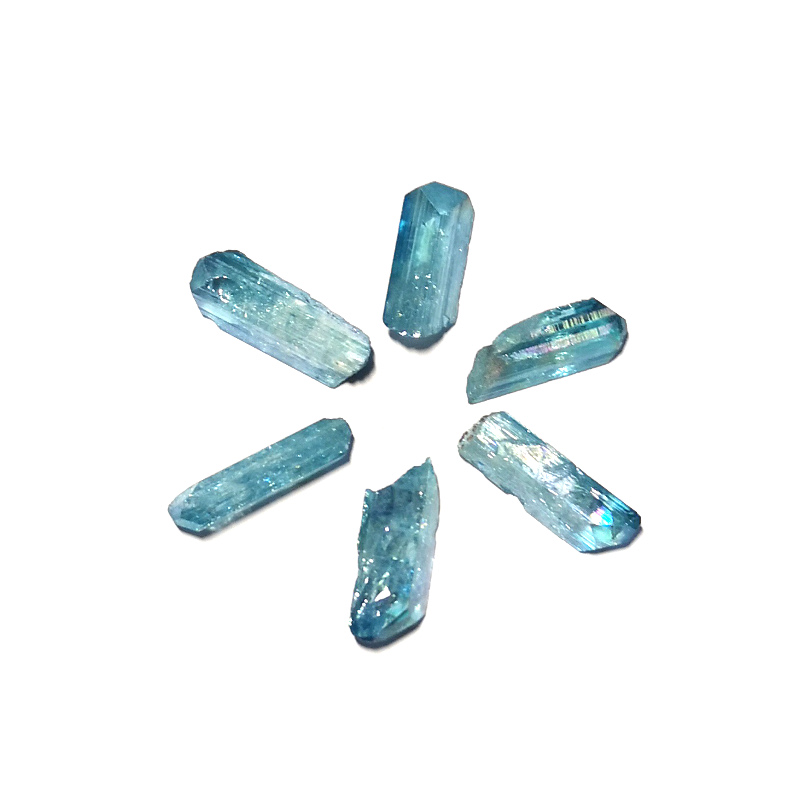 Aqua Aura Danburite Point All Raw Crystals