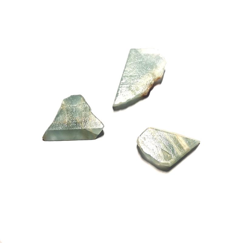 Lemuria Aquatine Calcite Raw Crystals lemuria aquatine calcite