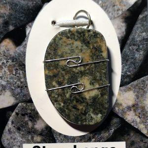 Stonehenge Bluestone Pendant Crystal Jewelry pendant