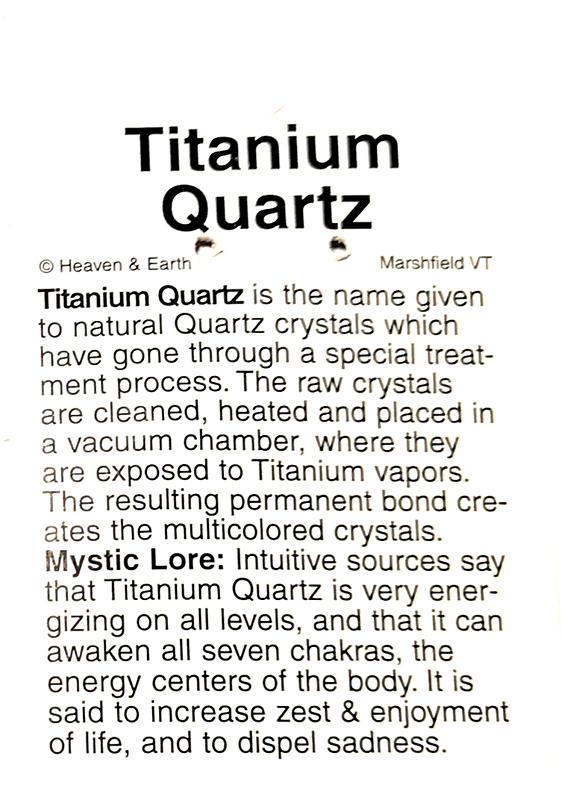 Wire Wrapped Pendant, Titanium Quartz All Crystal Jewelry pendant