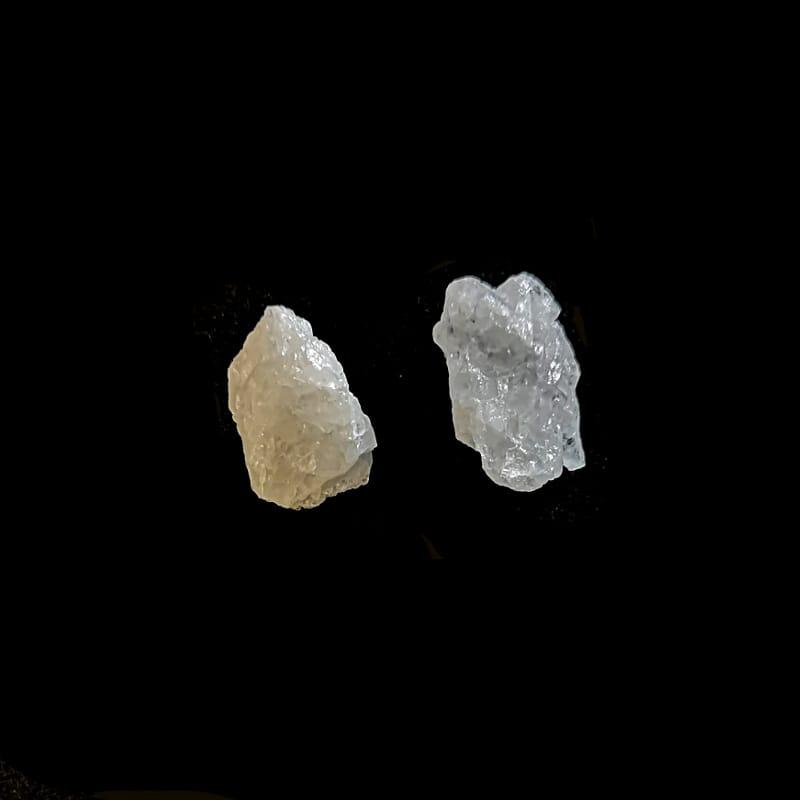 White Azeztulite Raw Crystals azozeo