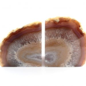 Agate Bookends, Natural All Specialty Items