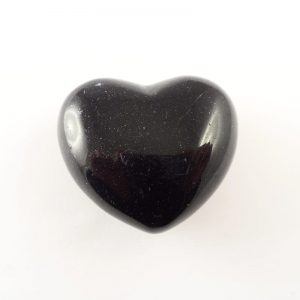 Goldstone, Blue Puffy Heart All Polished Crystals blue goldstone