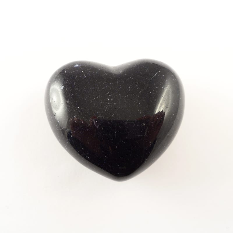 Goldstone, Blue Puffy Heart All Polished Crystals