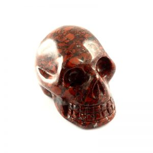 Brecciated Jasper Skull All Polished Crystals brecciated jasper