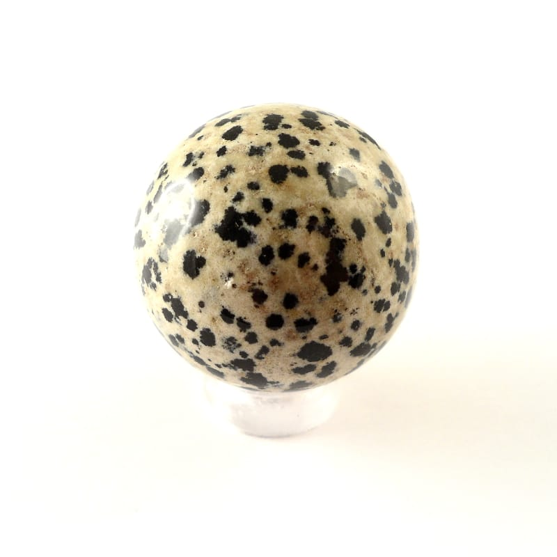 Jasper, Dalmatian, Sphere, 30mm All Polished Crystals