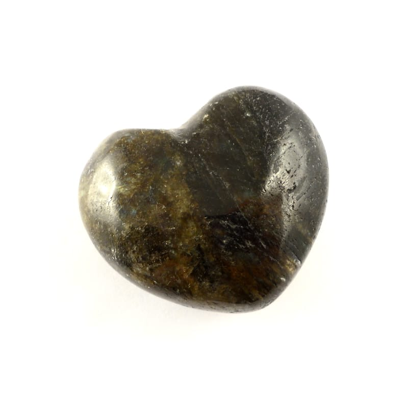 Labradorite Heart 45mm All Polished Crystals crystal heart