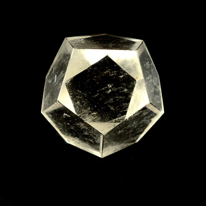 Quartz Sacred Geometry Icosahedron All Raw Crystals