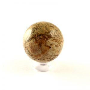 Jasper, Picture, Sphere, 25mm All Polished Crystals jasper