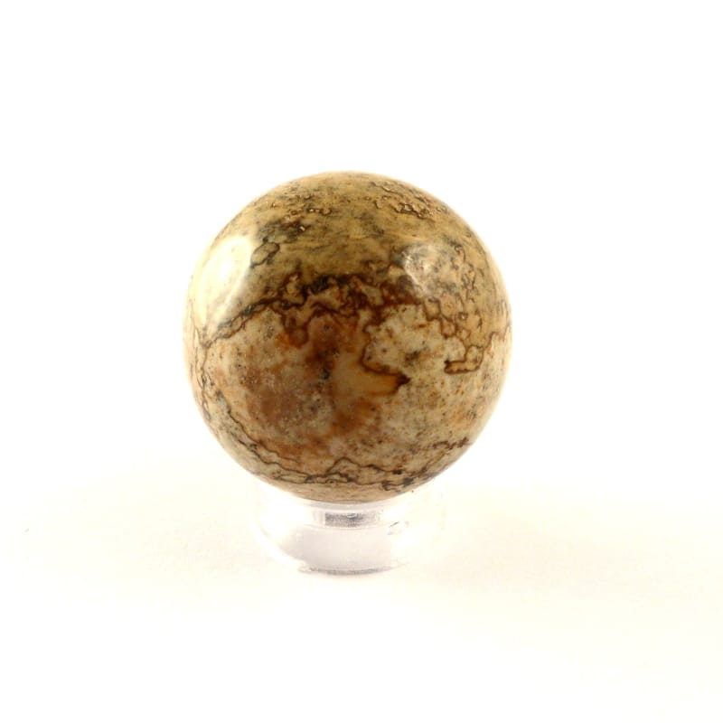 Jasper, Picture, Sphere, 25mm All Polished Crystals jasper