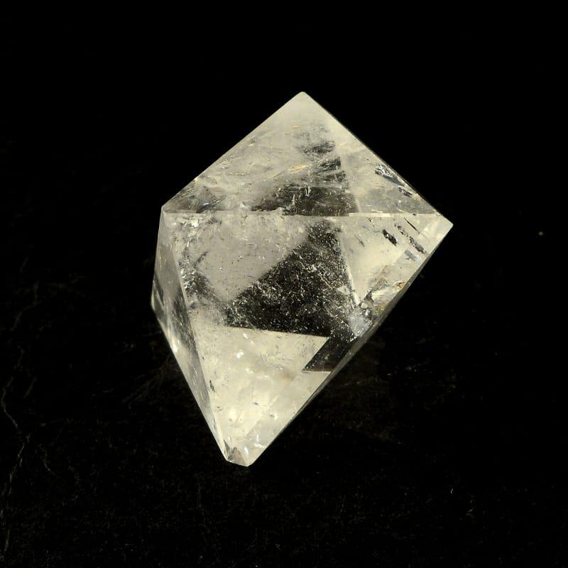 Quartz Sacred Geometry Octahedron All Polished Crystals