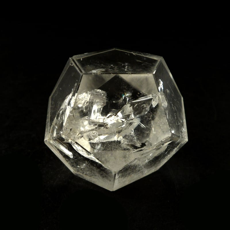 Quartz Sacred Geometry Icosahedron All Raw Crystals icosahedron