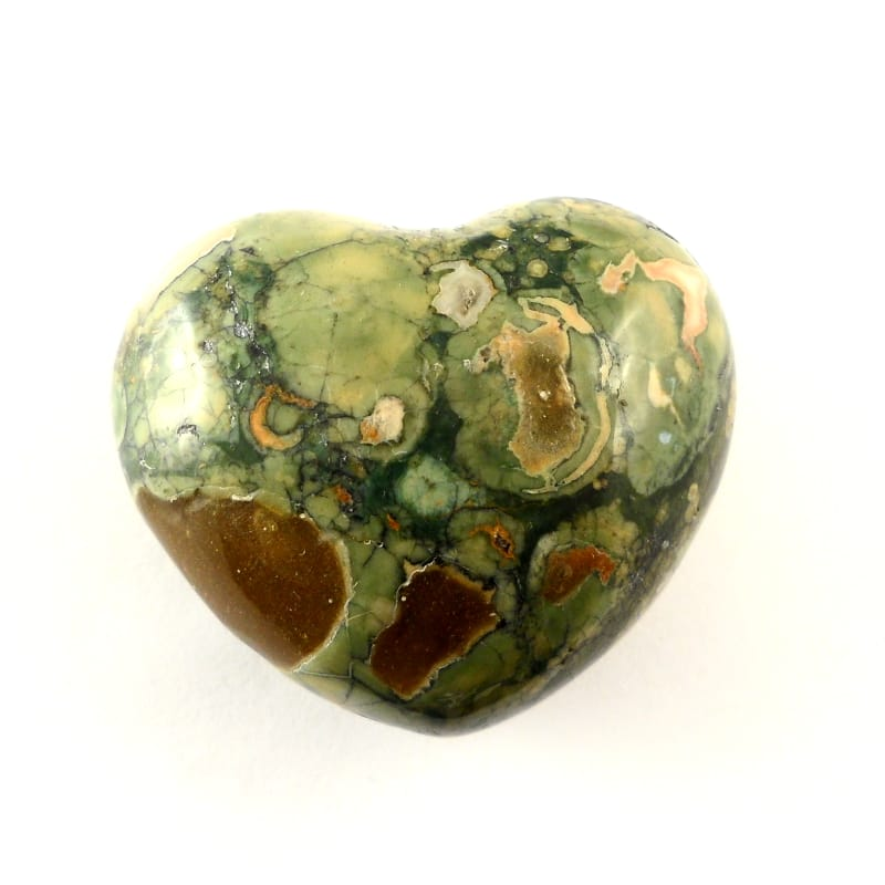 Rhyolite Puffy Heart All Polished Crystals heart