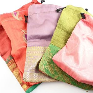 Sari Pouches, 6″, pack of 5 All Accessories indian