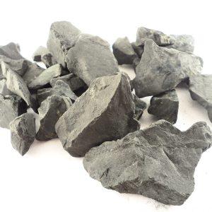 Shungite, raw, md, 16oz All Raw Crystals raw