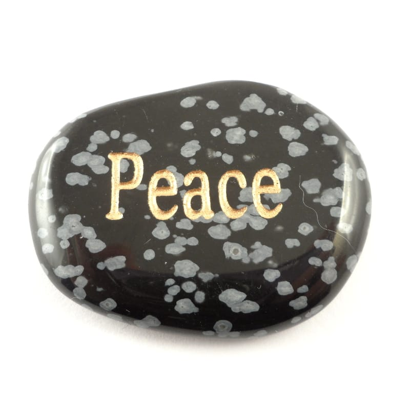 Obsidian, Snowflake Pocket Stone All Gallet Items pocket stone