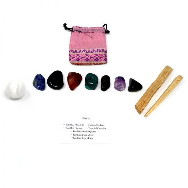 Crystal Kit ~ Cancer All Specialty Items black onyx