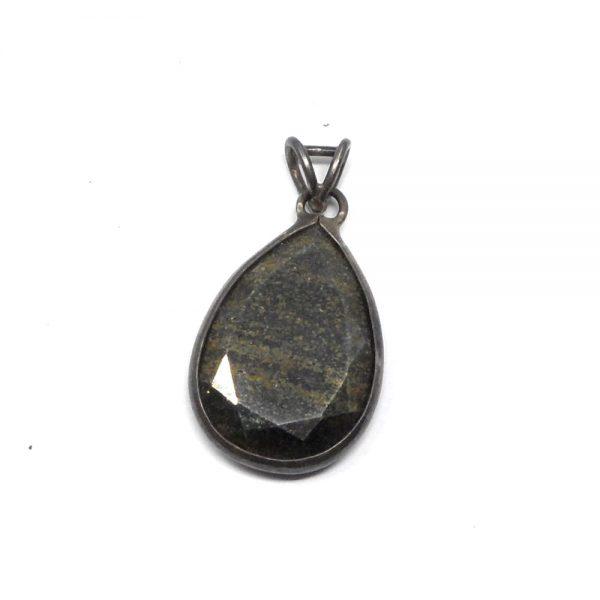 Chalcopyrite Pendant All Crystal Jewelry chalcopyrite