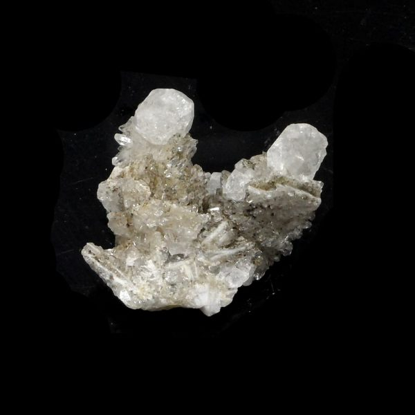 Quartz Cluster with Pyrite All Raw Crystals pyrite
