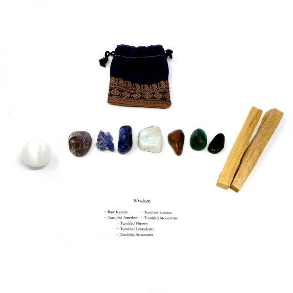 Crystal Kit ~ Wisdom All Specialty Items amazonite