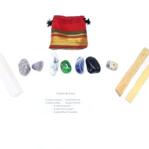 Crystal Kit ~ Anxiety & Stress All Specialty Items