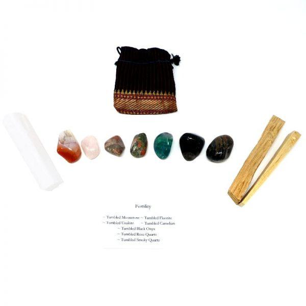Crystal Kit ~ Fertility All Specialty Items black onyx